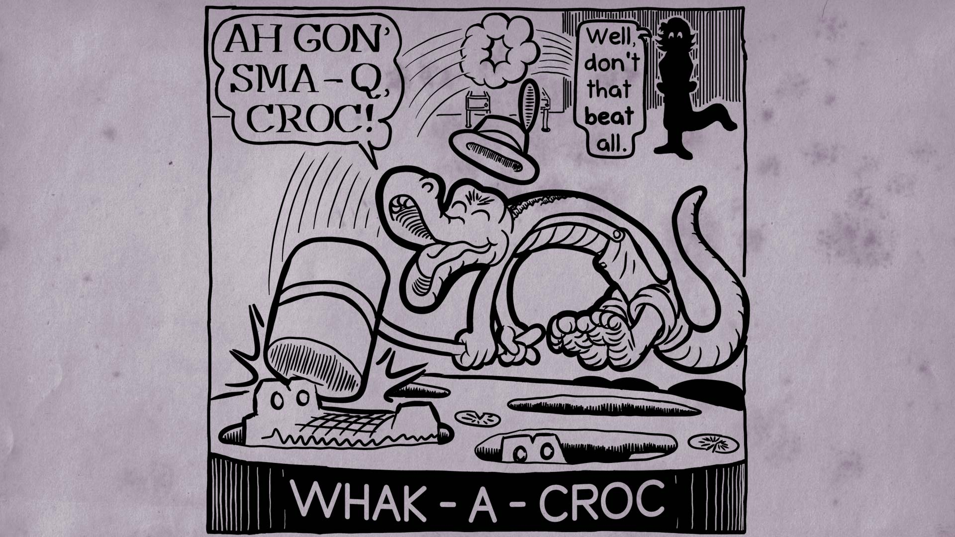Steam card exchange showcase gon039 e choo card 6 of 7artwork wack a croc altavistaventures Images