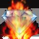 Fiery Crystal
