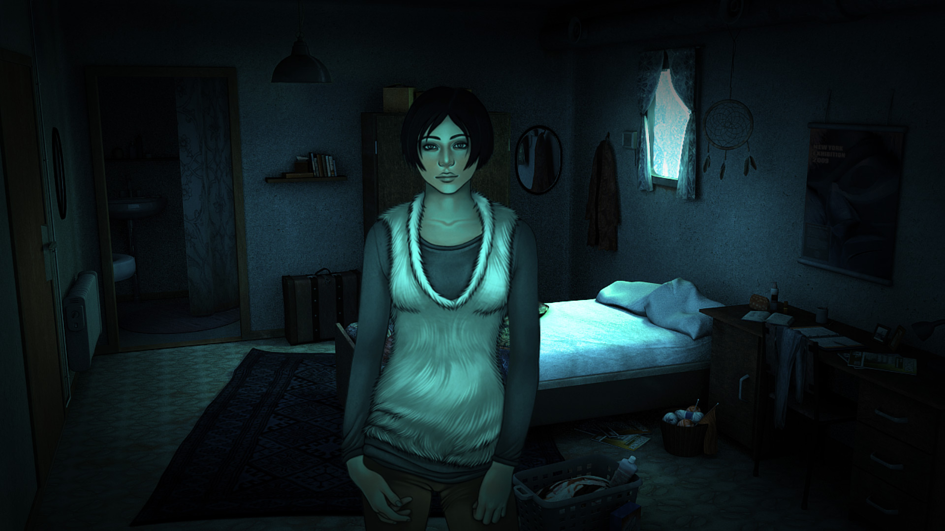 Картинки по запросу Alpha Polaris: A Horror Adventure Game girl