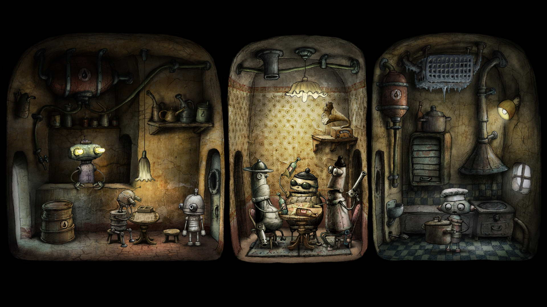Steam Card Exchange :: Showcase :: Machinarium