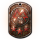 Rusted Spartan Tag