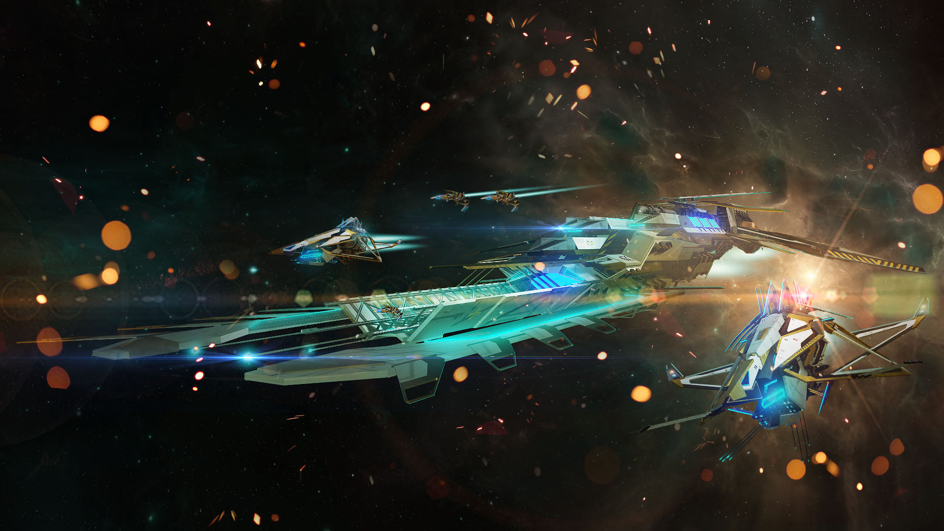Steam card exchange showcase starpoint gemini warlords card 7 of 8artwork borealis carrier malvernweather Image collections