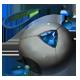 Sapphire Charm