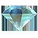 :sparklybluecrystal: