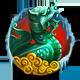 Obsidian dragon