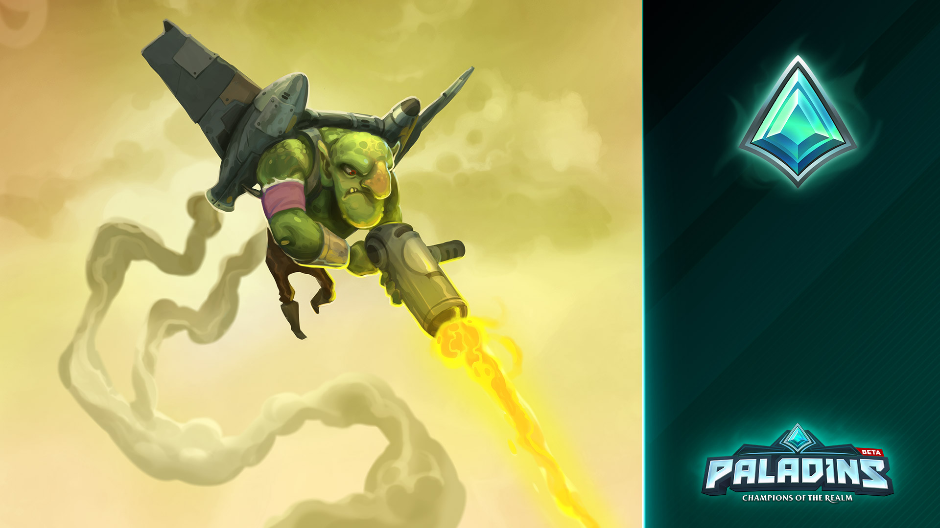 Steam Card Exchange Showcase Paladins Reassembled Number 5 Is Alive Again Cru Jones Society Of 8artwork From Above