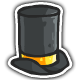 Wearer of Really Tall Top Hats