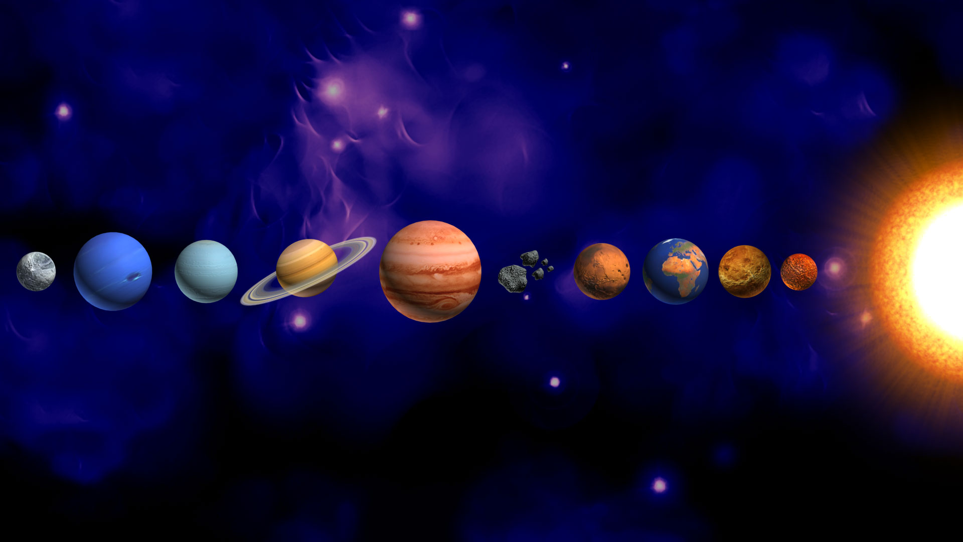 planets postage us postal service issues new solar system - HD 1920×1080