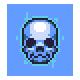Azure Skull