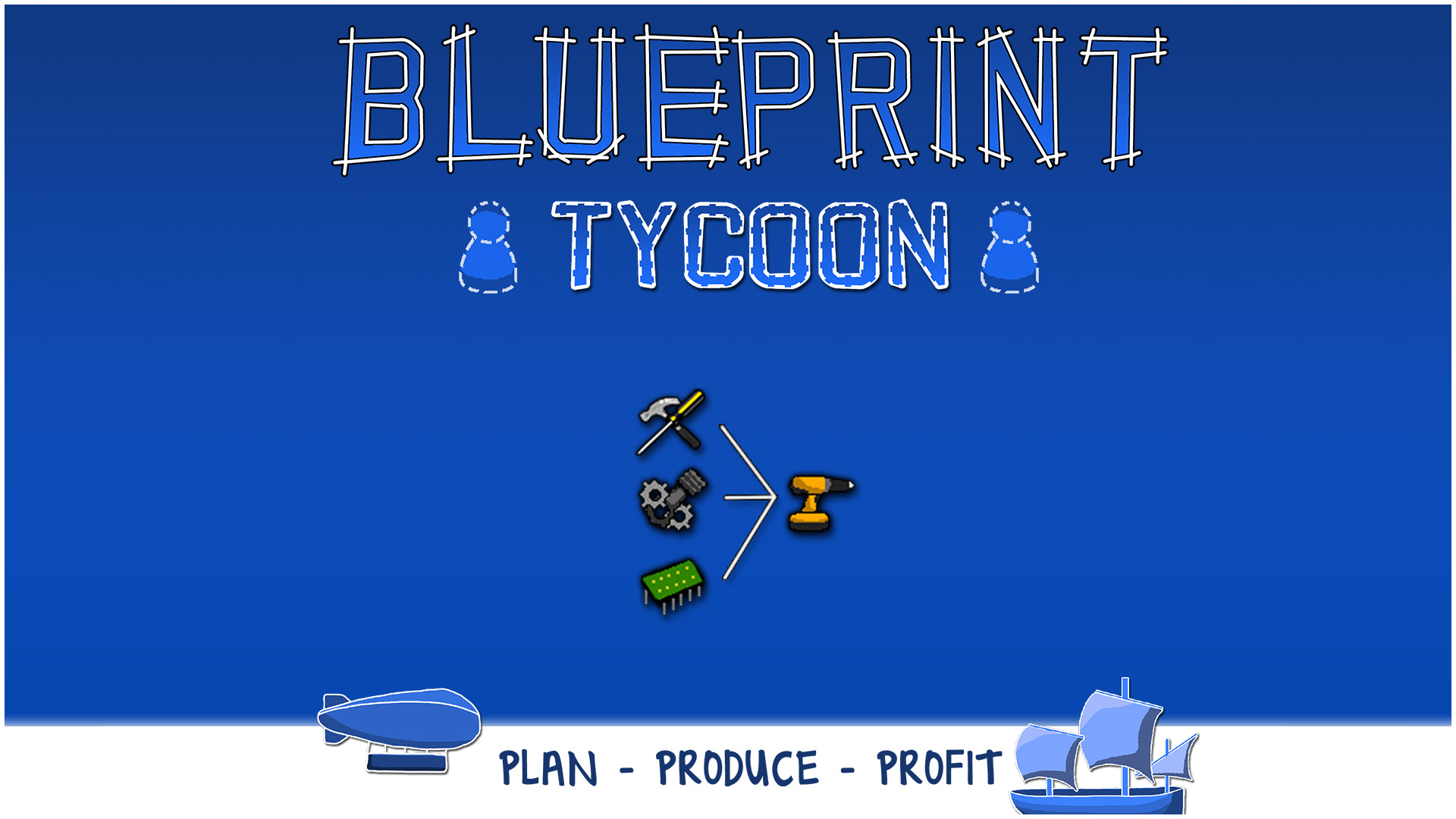 Steam card exchange showcase blueprint tycoon card 7 of 15artwork power tools blueprint malvernweather Choice Image