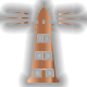 Bronze Lighthouse