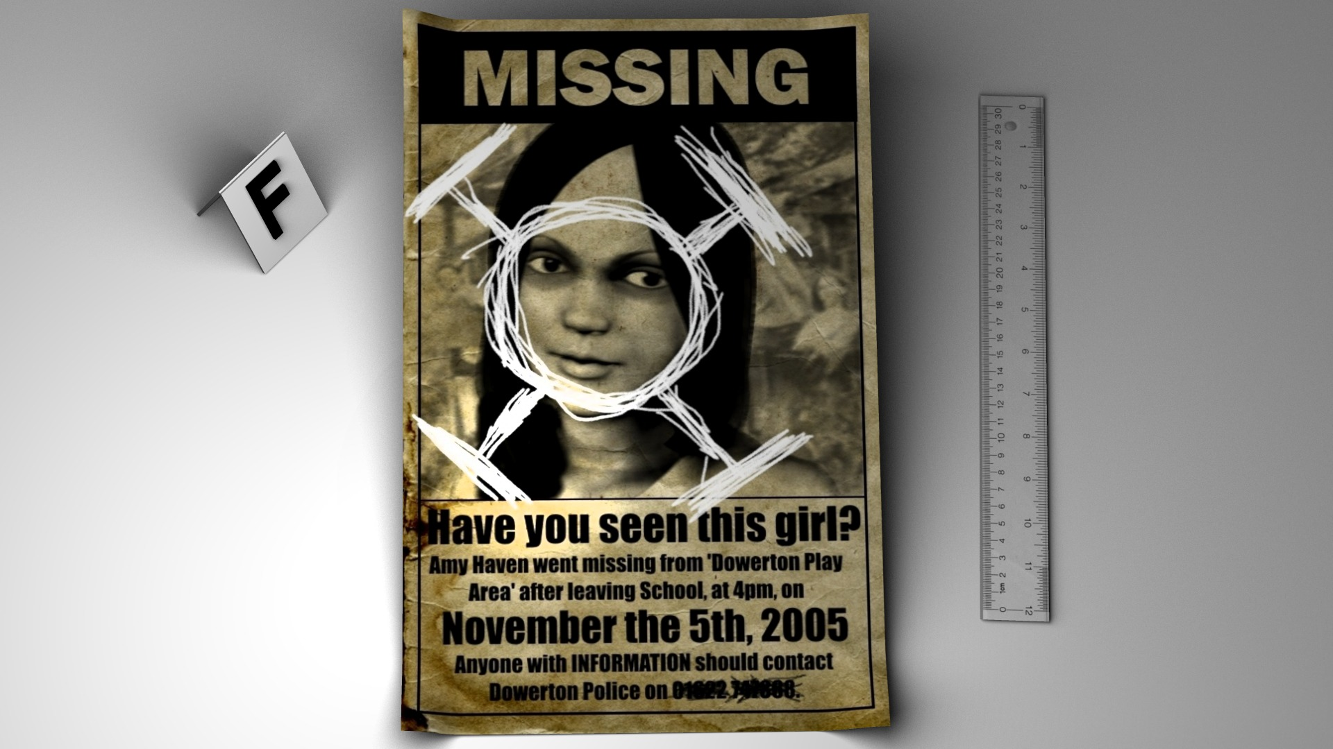 Steam Card Exchange  Lost Person Poster
