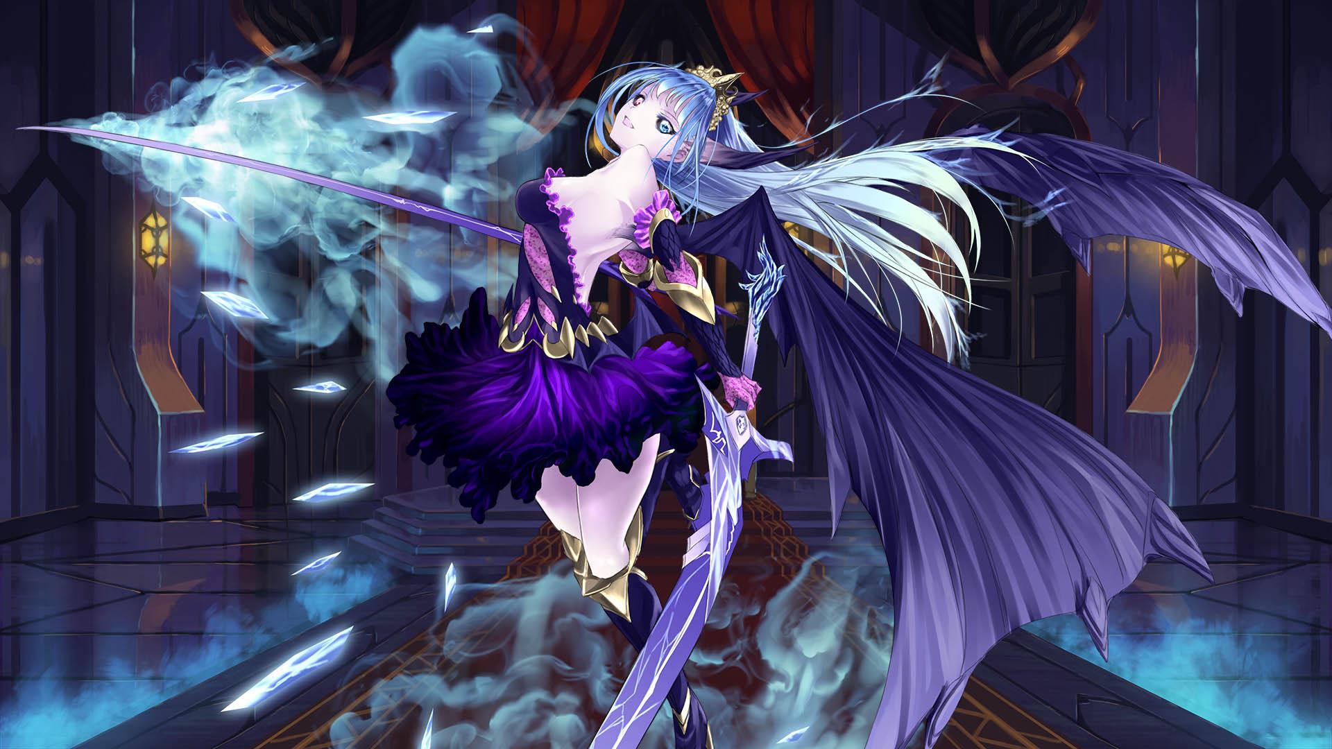 Steam Card Exchange Showcase Winged Sakura Demon Civil War