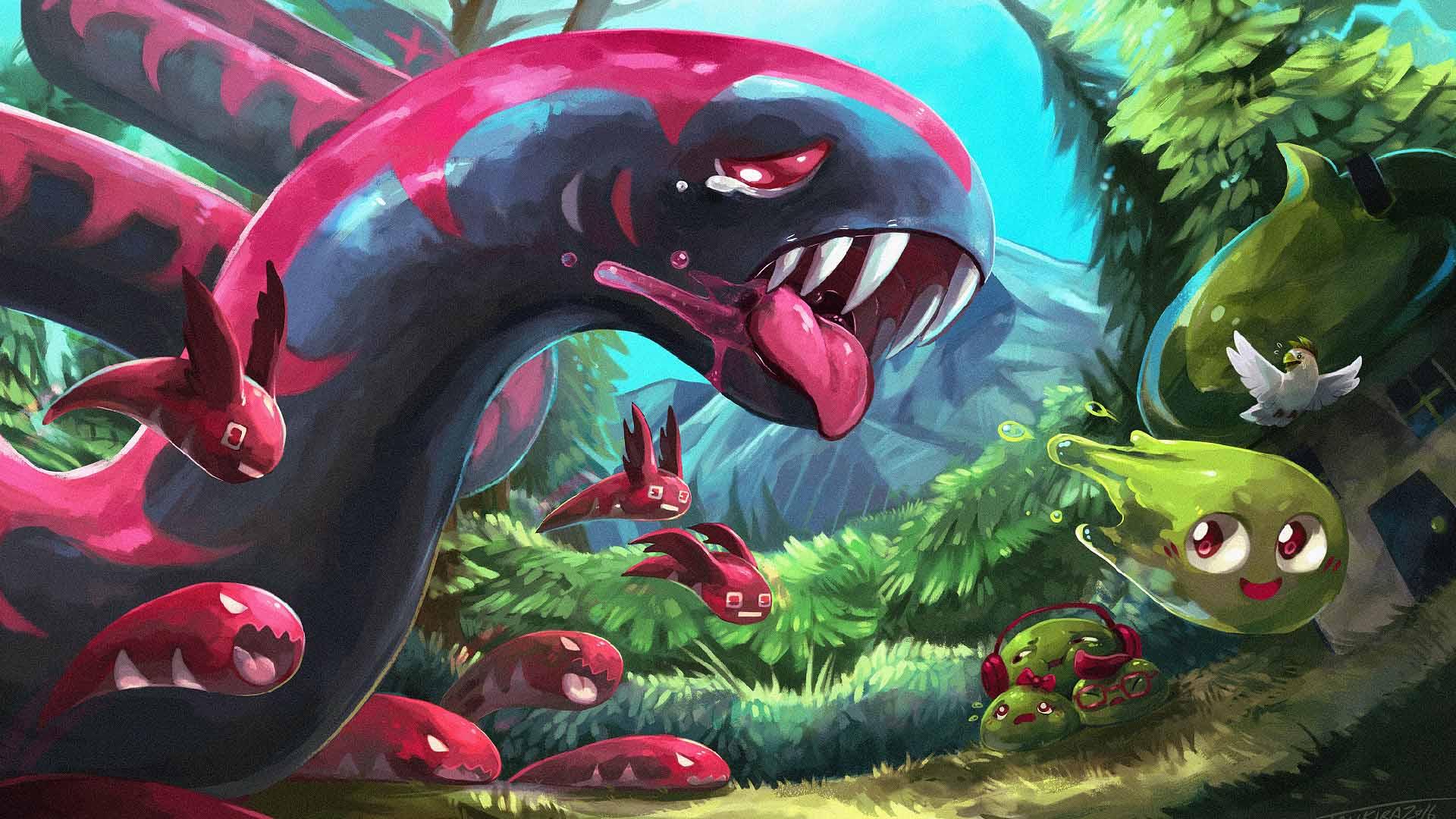 Tentacle Monster Slime Image Folder Dump