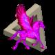 Neon Pink Pegasus