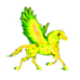 Yellow Pegasus