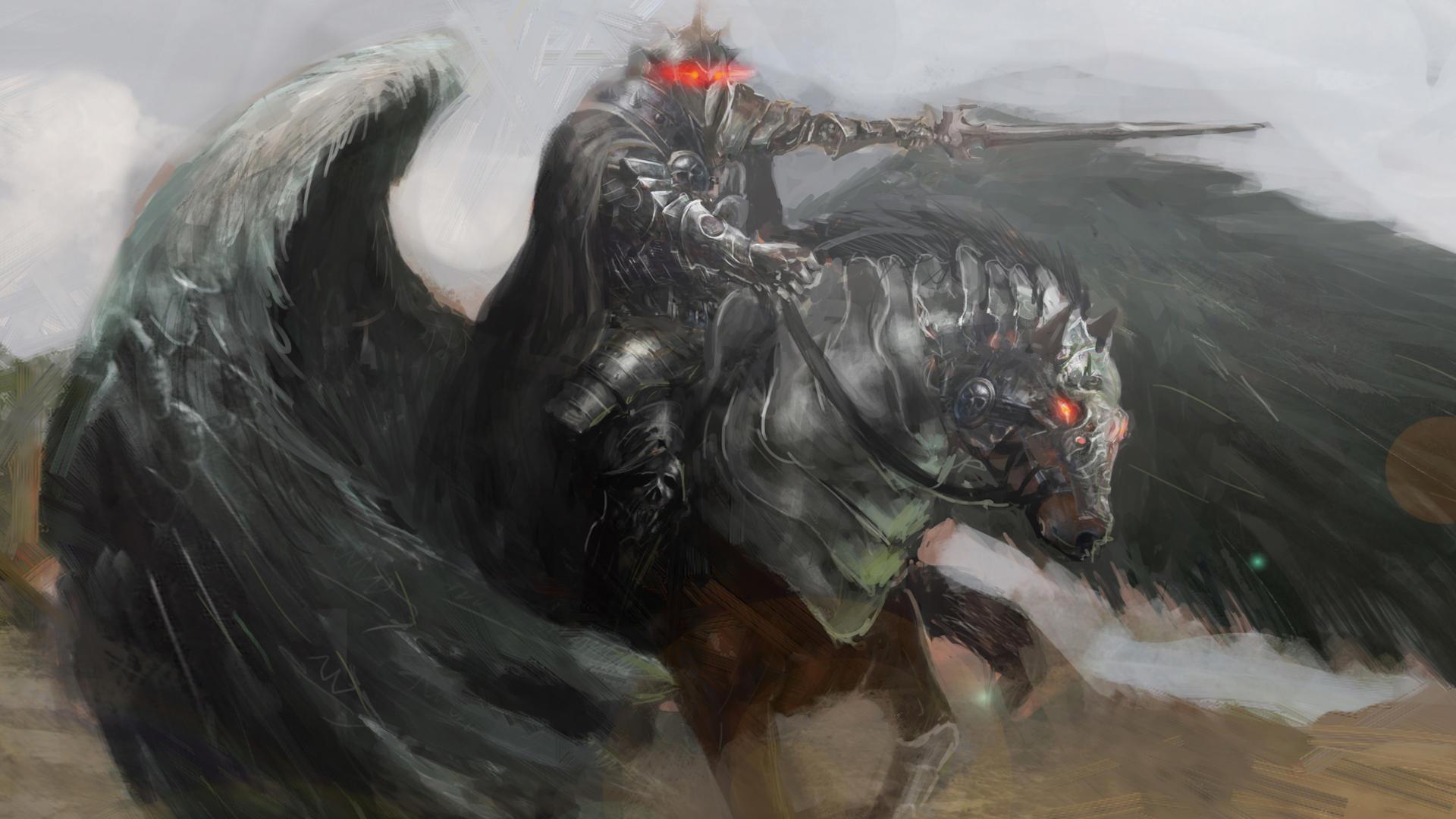 Blackjack Pegasus Porn - Card 3 of 5Artwork · Pegasus at War