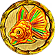 Amulet of Gold Fish