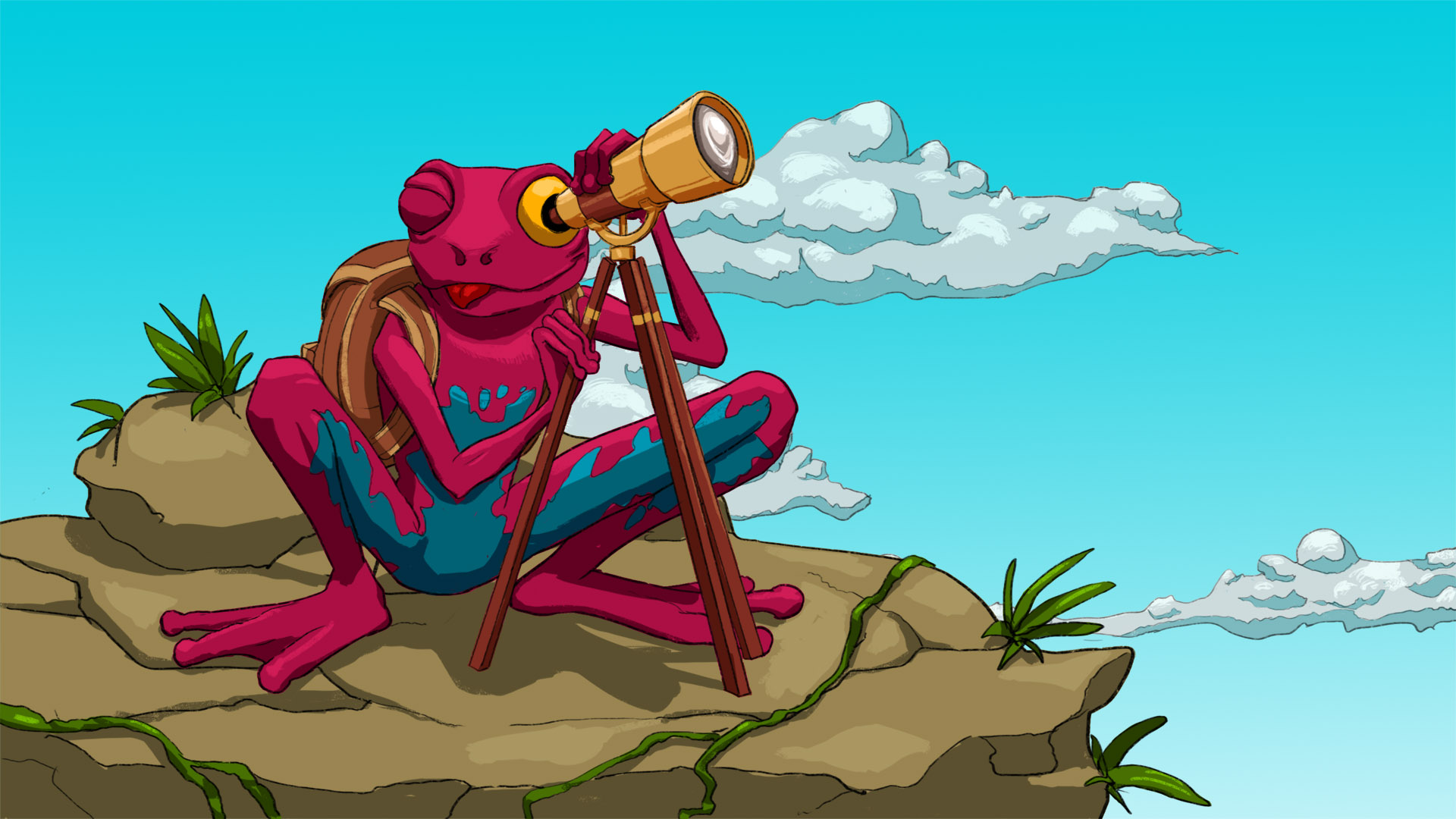 Steam Card Exchange :: Showcase :: Frog Climbers