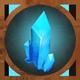 Big crystal