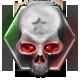 Congo Skull Badge