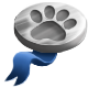Silver paw medal