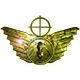 Transcendent wings badge