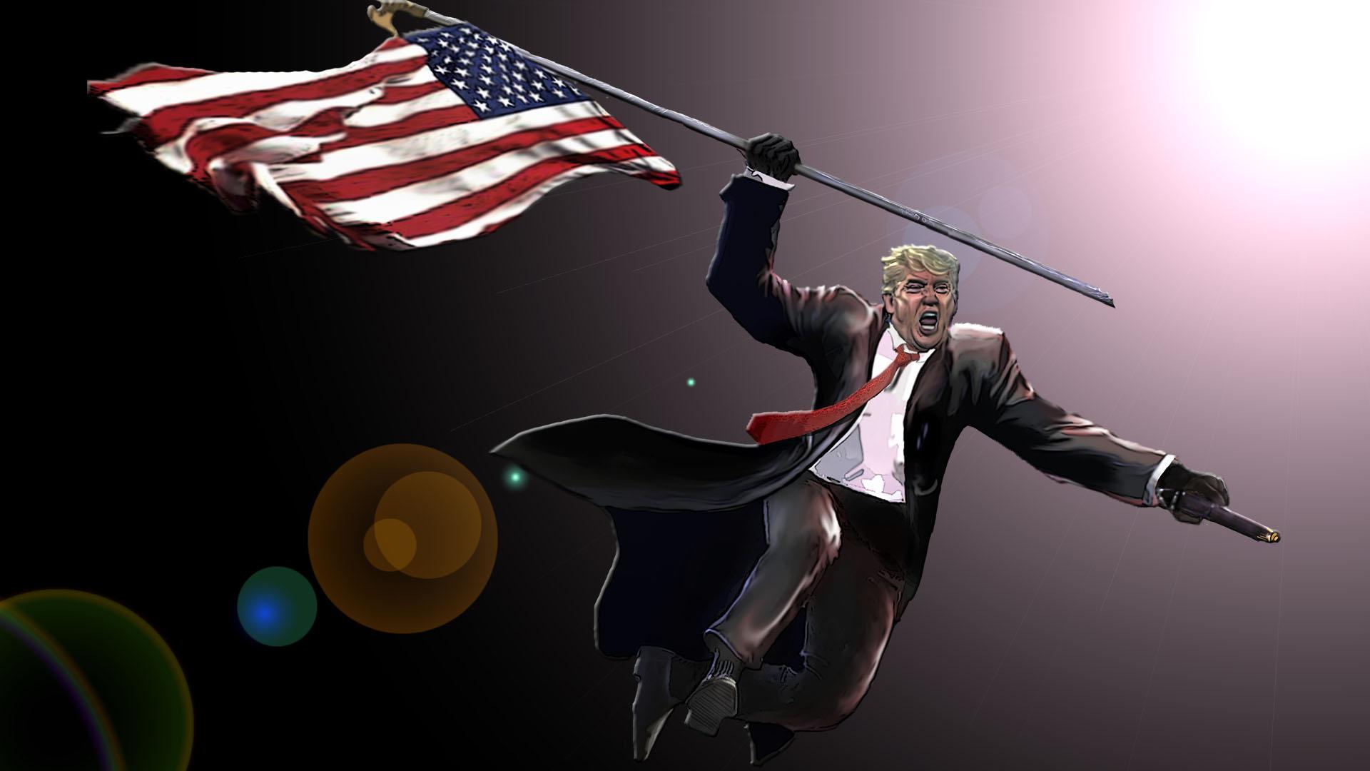 Image result for trump hero savior