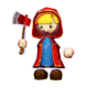 Woodcutter Red