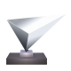 Silver Climbing Trophy