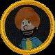 Cloth Happy Singh Badge