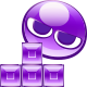 T & Purple Puyo