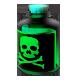 Foil poison bottle