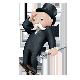 Mr Monopoly goes bankrupt