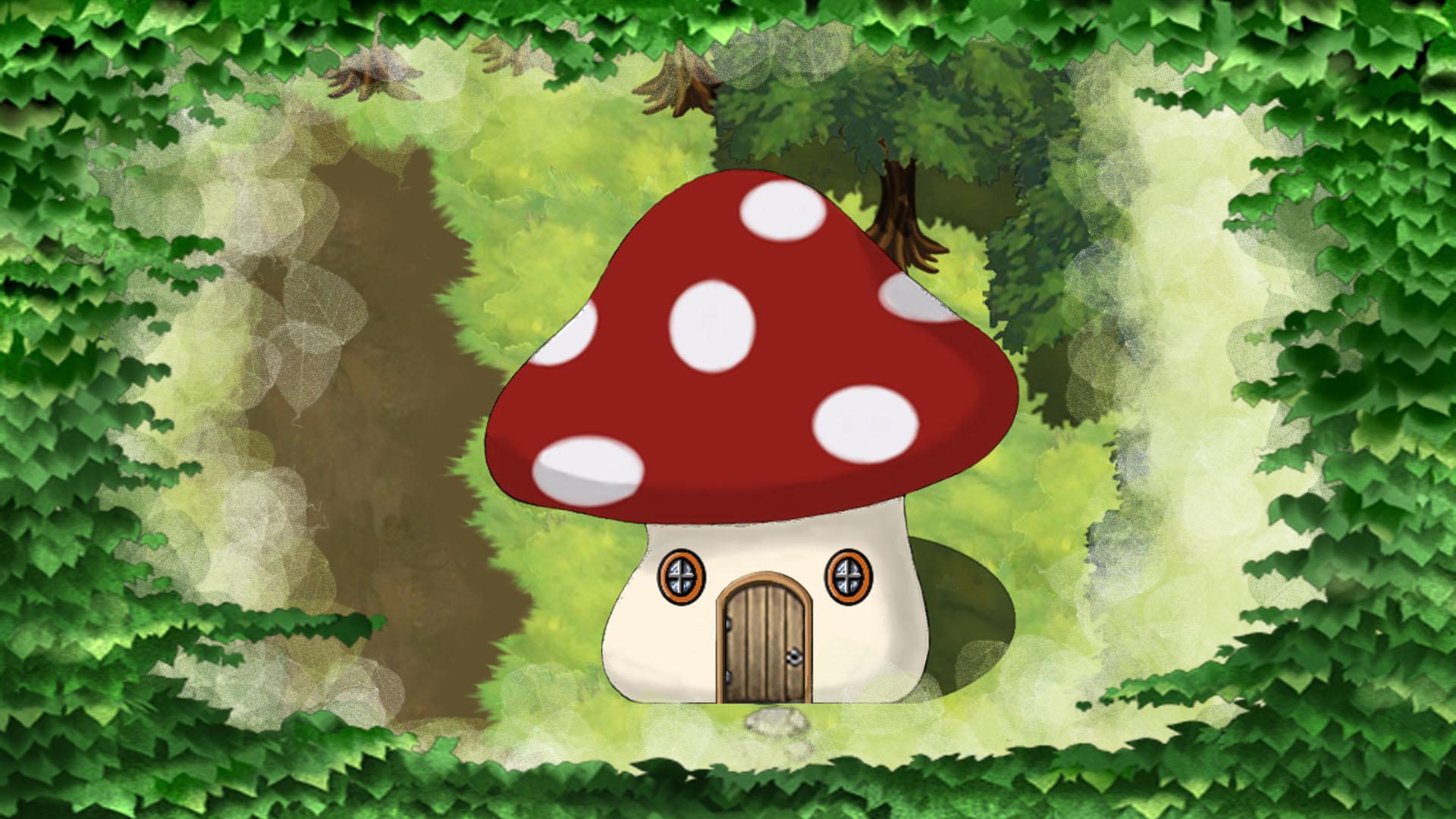 Card 3 Of 7Artwork · Mushroom House