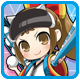 Superdimension Neptune VS Sega Hard Girls Badge 3