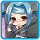 Superdimension Neptune VS Sega Hard Girls Badge 5