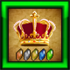 Emerald King of Crowns Badge