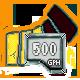500 GPH