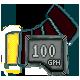 100 GPH