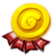 Gold G Badge