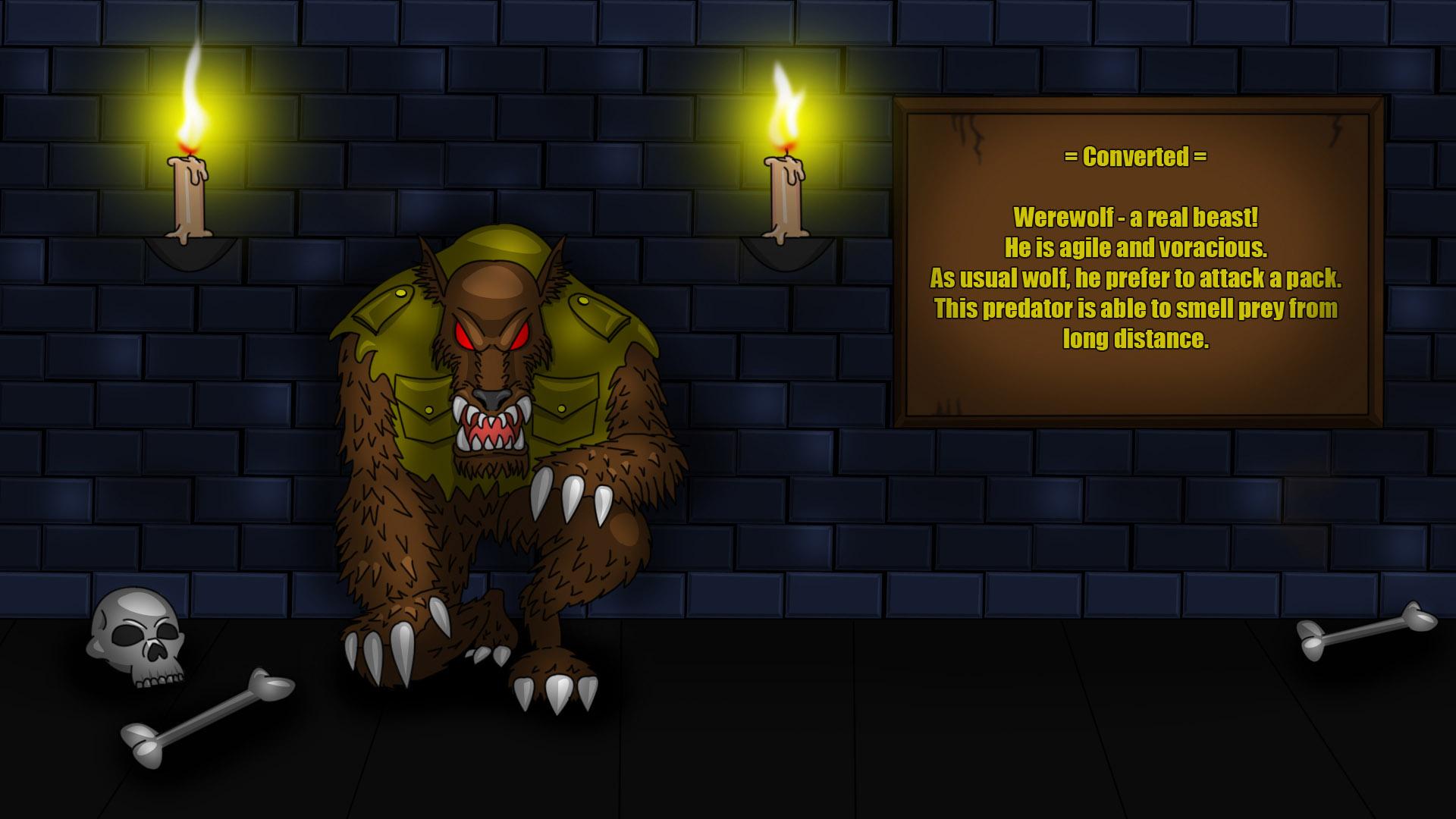 Steam Card Exchange Showcase Castle Werewolf
