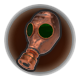 Bronze Gas Mask