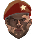 Red star beret