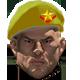 Yellow star beret