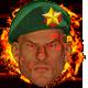 Green fire beret