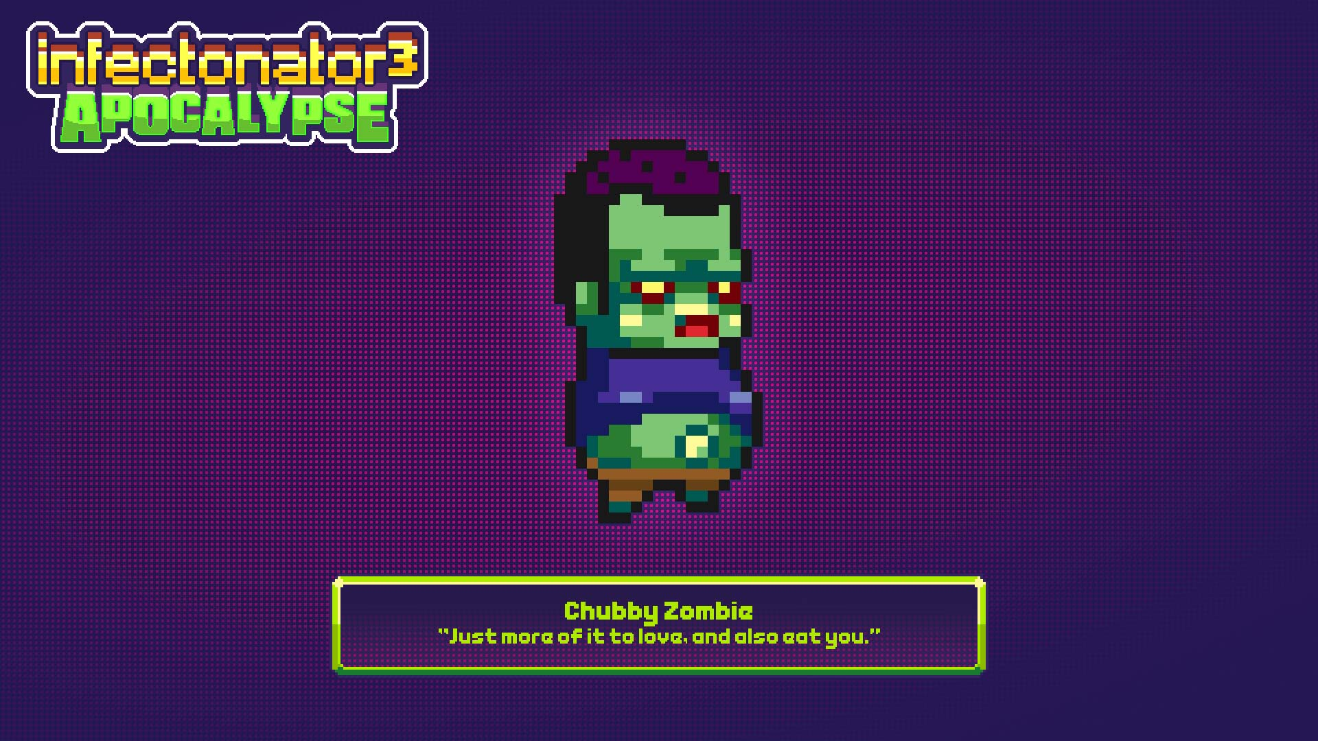 Card 2 of 6Artwork · Chubby Zombie