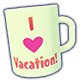 Now we really know you love vacation! ☕️🥰