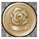 Dark Rose Valkyrie Level 5 Badge