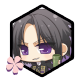Hakuoki: Edo Blossoms Level 3 Badge
